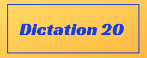 100-wpm-Dictation-No-20