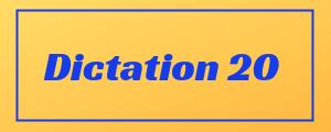 100-wpm-Dictation-No-20